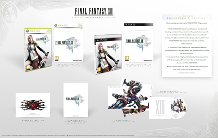 FFXIII collector´s edition